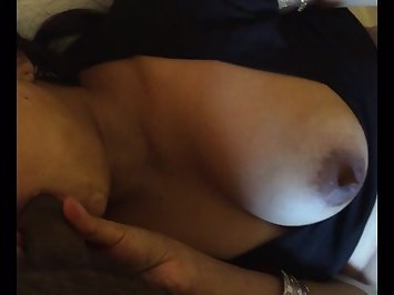 Firm Boob Indian Bhabhi Blowjob