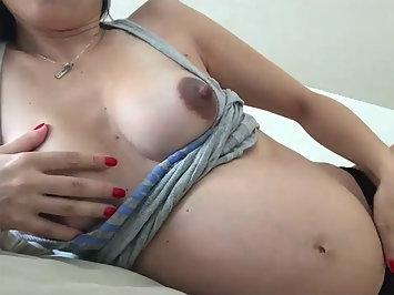 Lonely Indian Bhabhi Using Sex Toy